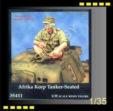 Free shipping resin Warriors 35411 1/35 Afrika Korp Tanker-Seated - WA35411