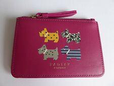 Radley Quad Dog Coin Purse - Credit Card Holder BNWT RRP £39 With Dust Bag