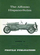 AUTOMOBILE PROFILE 85 ALFONSO HISPANO-SUIZA SPORTS CAR-RACER_SHORT LONG CHASSIS