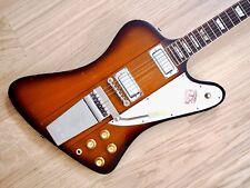 1964 Gibson Firebird V Reverse Body Vintage Electric Guitar Sunburst III VII, hc