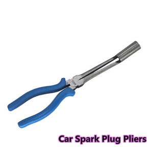 1Pcs Blue Car Spark Plug Pliers Voltage Cylinder Cable Clamp Removal Hand Tool