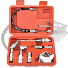 Tooluxe 61077L Grease Gun and Lubrication Accessory Kit Zerk Fittings New