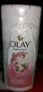 Olay Fresh Outlast cooling white strawberry & mint Body Wash- 3 fl oz {LOT OF 6}