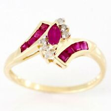 Handmade Yellow Ruby Fine Rings