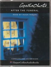 Audio Casette - Agatha Christie After the Funeral Hugh Fraser (DT)
