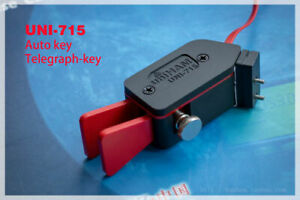UNI -715 Automatic Paddle Key Keyer CW Morse Code for HAM RADIO YAESU FT-817 818