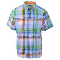Columbia Men's Tropical Paradise PFG Harborside Linen Camp S/S Woven Shirt