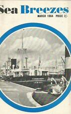 Sea Breezes shipping mag Mar 1964 Delphinula Kiautschou Granthams West Thurrock