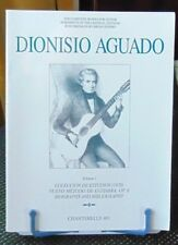 """Dionisio Aguado Volume 1 - Chanterelle 801""; the author is Michael Macmeeken"