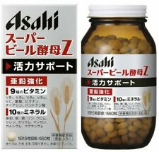 ASAHI Super Beer Yeast Z 660 Tablets for 44 Days with Zinc From Japan F/S