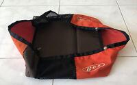 BOB Revolution Single Stroller Orange & Brown Basket -  Bag Lower Storage - Used