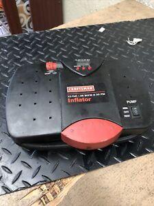 Craftsman 12 volt .35 Scfm 30 PSI Portable Tire Inflator Pump
