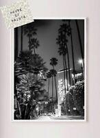 Designer art print home decor Black white photography vintage Beverly hills