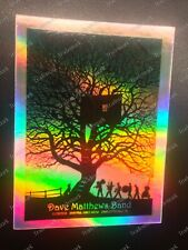 Rare 2010 Charlottesville Treehouse Dave Matthews Band #d Sticker Not Released!