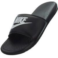 Nike Benassi JDI schwarz Herren Badelatschen Badeschuhe Sauna Strand Pantoletten