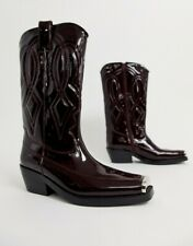 BNWB Jeffrey Campbell Eagles Leather Western Cowboy Boot RRP £229 UK4