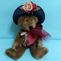"Boyds Bears Aunt Yvonne Dubeary Bear Jointed 11"" 1990's Plush Stuffed Animal Toy"