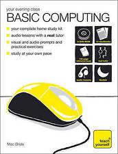 Very Good, Teach Yourself Your Evening Class: Basic Computing, Bride, Mac, Book