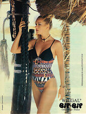 PUBLICITE ADVERTISING 025  1998  WILGAL   collection maillots de bain BI-BIP