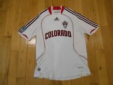 Adidas Formation COLORADO RAPIDS NICO COLALUCA MLS Soccer Jersey Kit 2008 Mens M