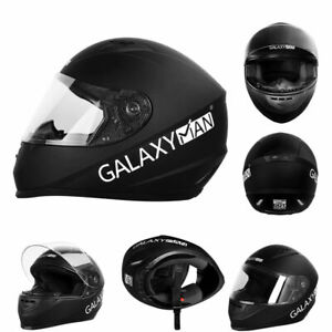 Motorcycle DOT Face Helmet Clear Goggles Flip up Racing Safety Helmet X/XL