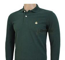 Camicie casual e maglie da uomo verde in cotone dal Perù