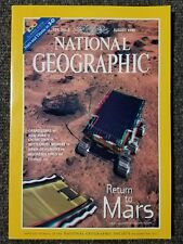National Geographic Magazine August 1998 With Glasses, 3-D Return to Mars