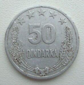 Albania 50 Qindarka 1964 Aluminum Coin S9