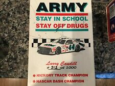 1:64 #44 Larry Caudill Army NASCAR & 30 Collector Card Set