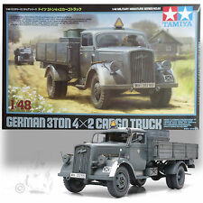 TAMIYA 1/48 GERMAN 3 TON 4X2 CARGO TRUCK