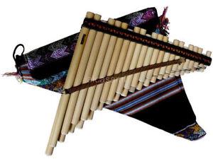 Professional Siku Pan Flute Zampoña Chromatic Ramos piano keyboard