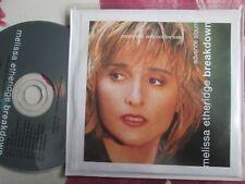 Melissa Etheridge – Breakdown Label: Island Records UK Promo CD Album