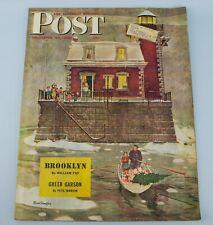 1946 SATURDAY EVENING POST Magazine 28 December Vintage American Mead Schaeffer