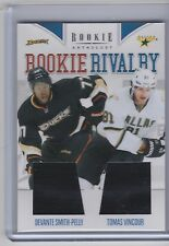 11-12 2011-12 ROOKIE ANTHOLOGY SMITH-PELLY VINCOUR ROOKIE RIVALRY DUAL JERSEY 51