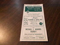 OCTOBER 1958 ERIE RAILROAD SUFFERN, NY TUXEDO, NY OFFICIAL TIMETABLE