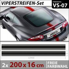 Viperstreifen Autoaufkleber Rallystreifen Racing Stripes Aufkleber . VS-07