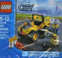 LEGO CITY 30152 Arbeiter Bergbau Quad Straßenbau Tiefbau ;)