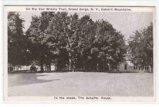Schaffer House Grand Gorge New York Catskill Mountains postcard