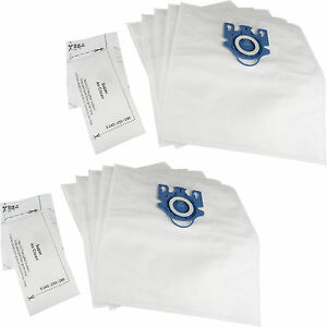 10 x GN Hoover Bags + Filters for Miele Cat & Dog Classic C1 Hyclean Dust Bags