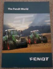 FENDT WORLD PRODUCT RANGE SALES BROCHURE