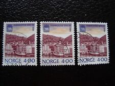 NORVEGE - timbre yvert et tellier n° 973 x3 obl (A30) stamp norway