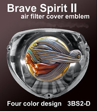 Polaris Indian Motorcycle Air Filter Cover Emblem Brave Spirit Zambini Bros MFA
