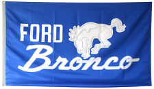 FORD BRONCO FLAG BANNER BLUE 3X5FT US SELLER FREE SHIPPING