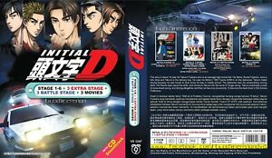 ANIME DVD~Initial D(Stage 1-6+3 Extra+3 Battle Stage+3 Movie)Eng sub+FREE GIFT