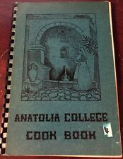 1920s ANATOLIA COLLEGE COOK BOOK SALONICA GREECE Greek Armenian Armenia Missions