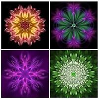 Flower 5D Full Drill Diamond Painting DIY Embroidery Cross Stitch Kit Home Decor
