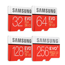 Samsung EVO Plus 256GB 128GB 64GB 32GB micro SD SDHC SDXC Lot 100MB/s 4K Class10