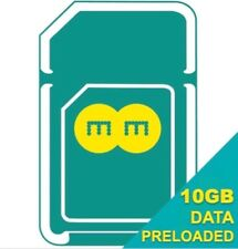 EE PAYG 4G Data Sim Card Preloaded With 10GB+1GB extra Of Data for 30 days