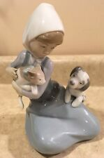 Lladró Figurine Rare Signature of Juan Lladro 5032 Little Friskies Original Box
