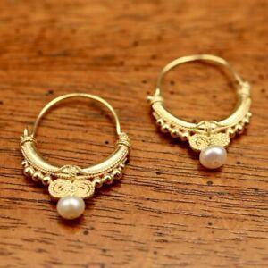 Sheherazade Pearl Earrings: Museum of Jewelry